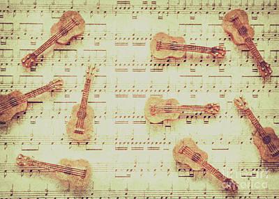 Designs Similar to Vintage Guitar Music