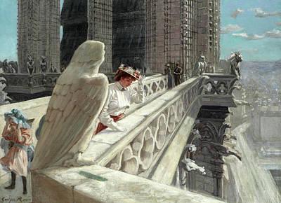 Designs Similar to A View Atop Notre Dame, Paris