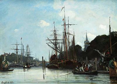 Designs Similar to Harbor by Johan Jongkind