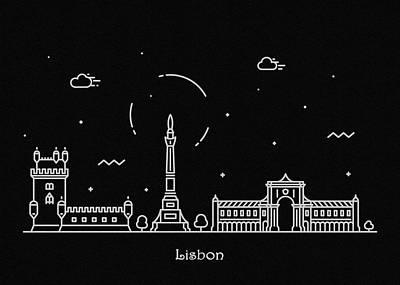 Designs Similar to Lisbon Skyline Travel Poster