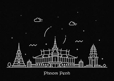Phnom Penh Art Prints