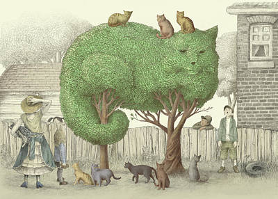 Designs Similar to The Cat Tree by Eric Fan
