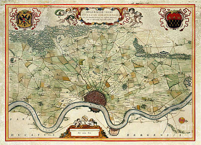 Designs Similar to Vintage Map Of Cologne