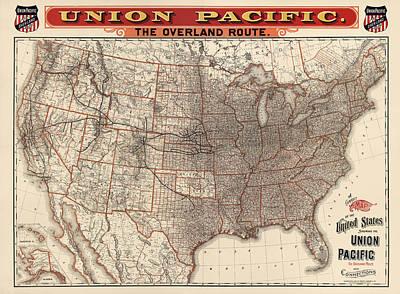 Union Pacific Railroad Posters