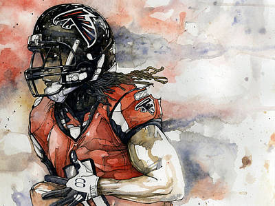Atlanta Falcons Original Artwork