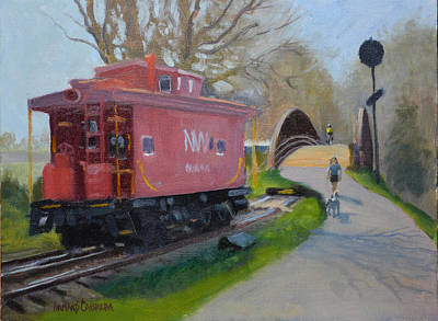 Old Caboose Paintings