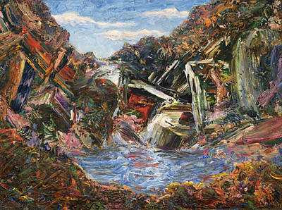Swimming Hole Paintings