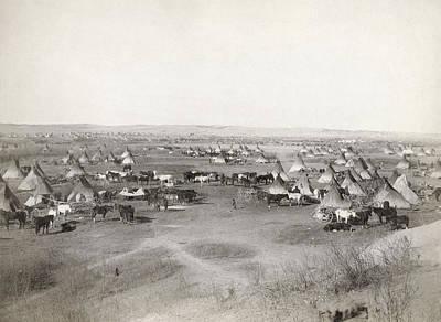 Designs Similar to Native American Camp, 1891