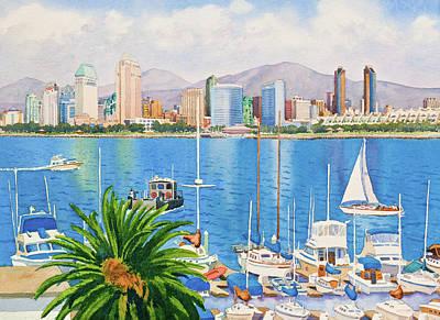 Yacht Original Artwork