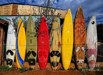 Designs Similar to Surf Board Fence Maui Hawaii