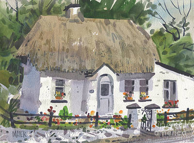 Thatched Roof Paintings Original Artwork