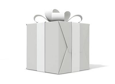 Designs Similar to White On White Cube Gift 1