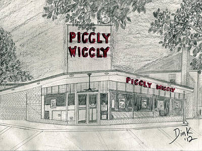 Piggly Wiggly Paintings