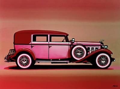 Designs Similar to Cadillac V16 Mixed Media