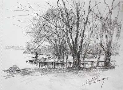 Landscape Drawings Original Artwork
