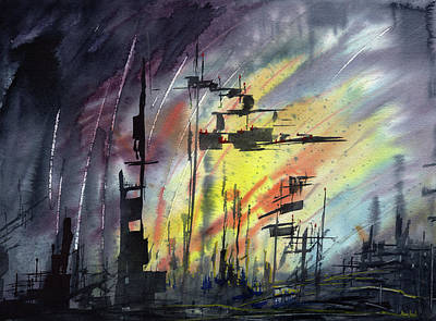 Post Apocalyptic Paintings