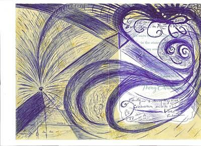 Intergalactic Space Drawings