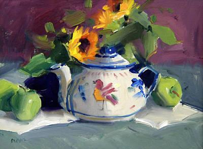 Flower Pots Art