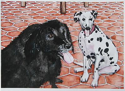 Watercolor Pet Portraits Digital Art