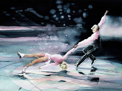 Olympic Figure Skating Paintings