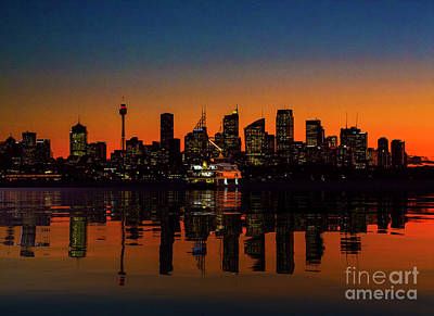 Designs Similar to Sydney Harbour At Sunset