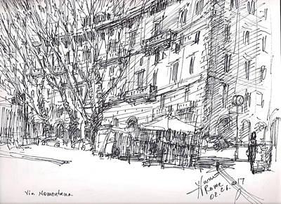 Italy Drawings Original Artwork