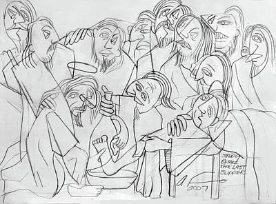 Designs Similar to Before The Last Supper