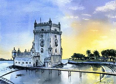 Belem Tower Paintings