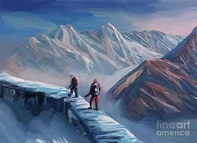Designs Similar to Climbing Mountain by Gull G