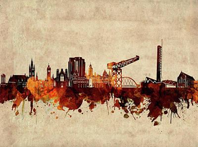 Designs Similar to Glasgow Skyline Sepia