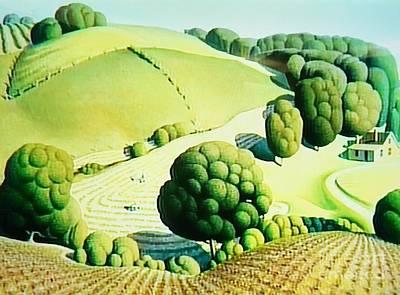Designs Similar to Iowa Simular Grant Wood