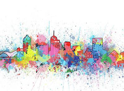 Designs Similar to Memphis Skyline Artistic