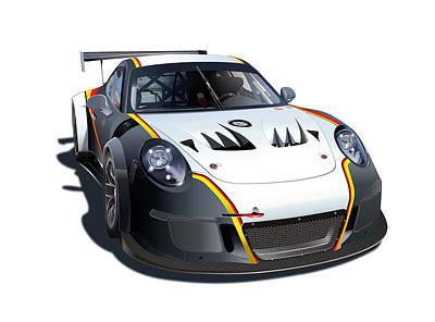 Designs Similar to Porsche Gt3 Mr Illustration