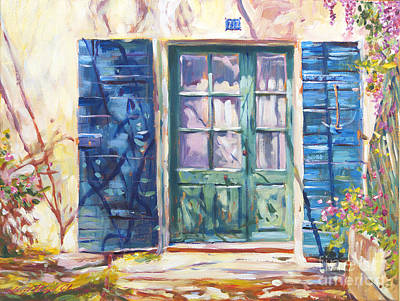 French Door Paintings Original Artwork