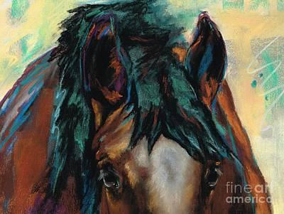 Horse Art Pastels Prints