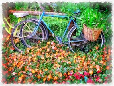 Designs Similar to Bicycles In The Garden