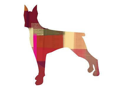 Doberman Pinscher Puppy Art