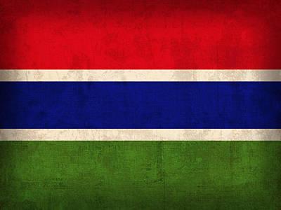 Gambia Mixed Media