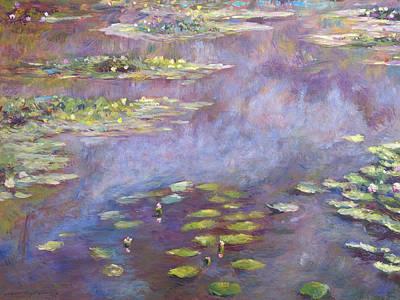 Nympheas Paintings Original Artwork