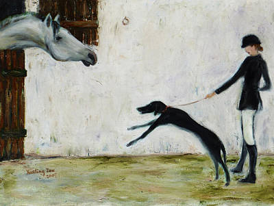Greyhound Races Paintings