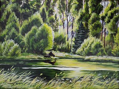 Lori Salisbury: Creek Art