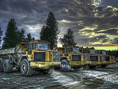 Heavy Duty Truck Art
