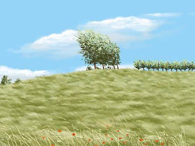 Landscape Digital Paintings