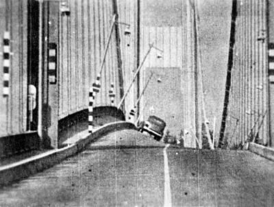 Designs Similar to Tacoma Narrows Bridge Collapse