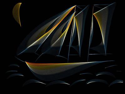Designs Similar to Tall Ship Dark Night