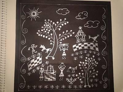 Tribes Of India Paintings Original Artwork