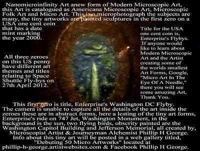Americana Microscopic Folk Art Art