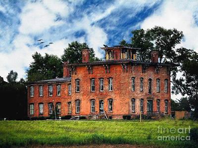 Ghost Adventures Mansion Prints