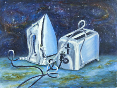 Iron And Toaster Paintings