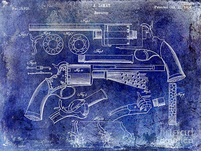 Designs Similar to 1856 Revolver Patent Blue